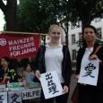 Am 18. Juni hat eine Spendenaktion auf dem Schillerplatz in Mainz stattgefunden.