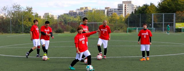 wir als ein japanischer Vertreter haben an einem Fussballturnier Mini-WM in Mainz-Finthen teilgenommen. 異文化交流祭りの一貫であるサッカー大会ミニW杯へ日本代表として参加させて頂きました。