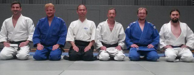 Der Judo-Club Jigoro Kano Ingelheim e. V. und der Mainzer Freunde für Japan e.V. haben in Ingelheim einen Benefiz-Lehrgang organisiert.インゲルハイムでチャリティ稽古会がありました。